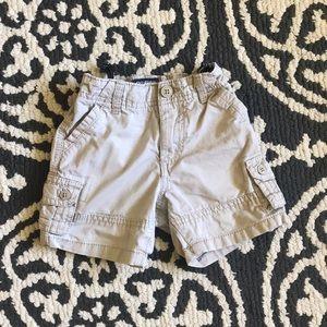 Osh Kosh Boys 12 month size khaki shorts